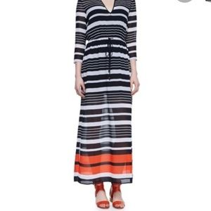 New MICHAEL KORS Helsinki Striped Dress